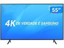 "Smart TV LED 55"" Samsung 4K/Ultra HD NU7100 - Tizen Conversor Digital Wi-Fi 3 HDMI 2 USB DLNA"