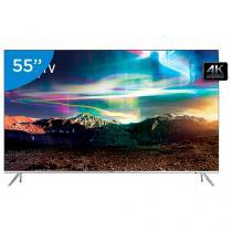 "Smart TV LED 55"" Samsung 4K/Ultra SUHD 55KS7000 - Conversor Digital Wi-Fi 4 HDMI 3 USB"