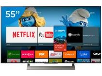 "Smart TV LED 55"" Sony 4K/Ultra HD XBR-55X905E   - Android Conversor Digital Wi-Fi 4 HDMI 3 USB"