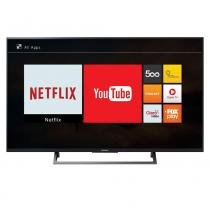 "Smart TV LED 55"" Sony KD-55X705E 4K Ultra HD HDR, Wi-Fi, 3 USB, 3 HDMI -"