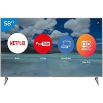 "Smart TV LED 58"" Panasonic 4K/Ultra HD Viera - TC-58EX750B Conversor Digital 4 HDMI 3 USB"