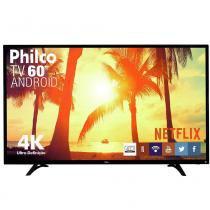 "Smart TV LED 60"" Philco PH60D16DSGWN 4K Ultra HD, Wi-Fi, 2 USB, 3 HDMI -"