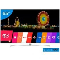 "Smart TV LED 65"" LG 4K Ultra HD 3D 65UH9500 - Conversor Digital 3 HDMI 3 USB Wi-Fi 2 Óculos"