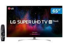 "Smart TV LED 65"" LG 4K/Ultra HD 65SK8500PSA - WebOs Conversor Digital Wi-Fi 4 HDMI 3 USB"