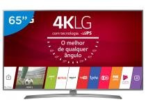 "Smart TV LED 65"" LG 4K/Ultra HD 65UJ6585 WebOS - Conversor Digital Wi-Fi 2 4 HDMI 2 USB"