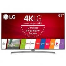 """Smart TV LED 65"""" LG 65UJ6585 4K Ultra HD HDR, Wi-Fi, 2 USB, 4 HDMI, DTV e IPS -"""