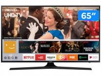"Smart TV LED 65"" Samsung 4K Ultra HD 65MU6100 - Conversor Digital Wi-Fi 3 HDMI 2 USB"