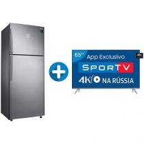 "Smart TV LED 65"" Samsung 4K/Ultra HD 65MU7000 - Conversor Digital + Geladeira/Refrigerador Samsung"