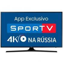 """Smart TV LED 65"""" Samsung UN65MU6100 4K Ultra HD HDR, Wi-Fi, 120Hz, 2 USB, 3 HDMI -"""