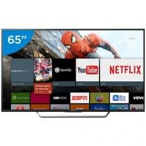"Smart TV LED 65"" Sony 4K/Ultra HD KD-65X7505D - Conversor Digital Wi-Fi 4 HDMI 3 USB DLNA"