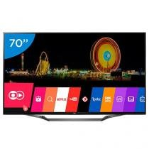 "Smart TV LED 70"" LG 4K Ultra HD 70UH6350 - WebOS Conversor Digital 3 HDMI 2 USB Wi-Fi"