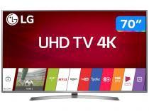 "Smart TV LED 70"" LG 4K/Ultra HD 70UJ6585 WebOS - Conversor Digital Wi-Fi 4 HDMI 2 USB Bluetooth HDR"