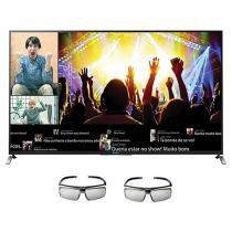 Smart TV LED 70 Polegadas Sony 3D Full HD Wi-Fi KDL70W855B -