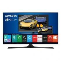 "Smart TV LED 75"" Samsung Full HD, 4 HDMI, 3 USB, 240Hz, CMR - UN75J6300AGXZD - Samsung"