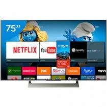 "Smart TV LED 75"" Sony 4K/Ultra HD XBR-75X905E - Conversor Digital Wi-Fi 4 HDMI 3 USB"