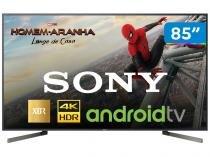 """Smart TV LED 85"""" Sony 4K/Ultra HD XBR-85X905F - Android Conversor Digital Wi-Fi 4 HDMI 3 USB"""
