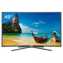 "Smart TV LED Curva 49"" Samsung Full HD 49K6500 - Conversor Digital 3 HDMI 2 USB Wi-Fi"
