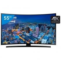 Smart Tv Led Curved 4k Ultra Hd 55 Samsung - Un55ju6700 4 Hdmi 3 Usb Wi-fi -
