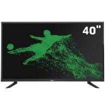 Smart TV LED Full HD 40 Pol Philco  Android Wi-Fi  Som Surround Entradas HDMI e USB - PH40E20DSGWA -