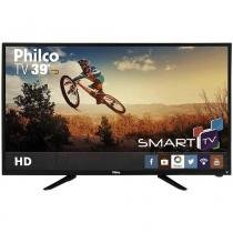 "Smart TV Led Philco 39"" PH39N86DSGW Ginga, Wireless, HDMI, USB, Receptor DTV -"
