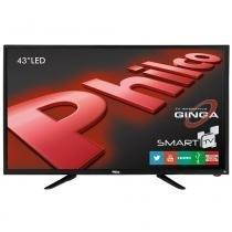 Smart TV LED Philco PH43N91 DSGWA, HDMI, USB, Wi-fi, Android, Conversor Digital -