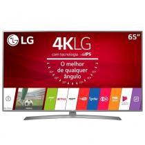 Smart TV LG 65 Polegadas Led Ultra HDMI USB 4K 65UJ6585 - Lg som imagem