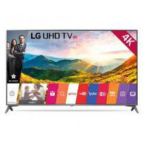 Smart TV LG LED 43 Polegadas Ultra HD 4K Ultra Slim WebOS Conversor Digital 43UJ6565 - Lg som imagem
