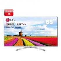 Smart TV LG Super UHD 65 polegadas 65SJ8000 WebOS 3.5 Painel IPS 4K Quantum Display com HDR -