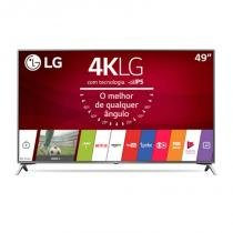 "Smart TV LG Ultra HD 49"" Painel IPS 4K com WebOS 3.5, HDR e Magic Mobile Connection -"