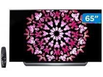 "Smart TV OLED 65"" LG 4K/Ultra HD OLED65C8PSA - WebOs Conversor Digital Wi-Fi 4 HDMI 3 USB"