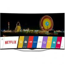 "Smart TV OLED Curva 3D 55"" LG 55EC9300 Full HD - Conversor Integrado 4 HDMI 3 USB Wi-Fi 4 Óculos"