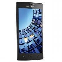 Smartphone 4G 16Gb Quad Core Preto Ms60 Multilaser - Multilaser