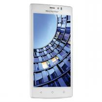 Smartphone 5.5 Pol 4G Quadcore 2 Chips Branco Ms60 Multilaser -
