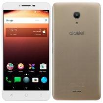 "Smartphone Alcatel A3 XL Max, Dual Chip, Dourado, Tela 6"", 4G+WiFi, Android 7.0, 8MP, 32GB -"