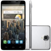 "Smartphone Alcatel Idol One Touch 16GB Dual Chip - 3G Câm. 8MP Tela 4.7"" Proc. Dual Core Android 4.1"