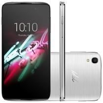 "Smartphone Alcatel One Touch Idol 3 Dual Chip      - 16GB 4G Câm. 13MP Tela 4,7"" Proc. Quad Core"