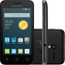 "Smartphone Alcatel Pixi 3 4GB, Dual Chip, 3G, Android, Câm 5MP, Tela 3.5"", Wi-Fi Preto -"