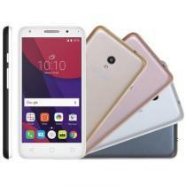 Smartphone alcatel pixi 4 5, 4g, 8gb, 8mp, dual chip, metallic - ot5045j - Alcatel