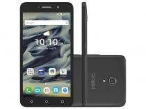 Smartphone Alcatel PIXI4 6 8GB Preto 3G Quad Core  - Tela 6 Câm. 13MP + Selfie 8MP Dual Chip