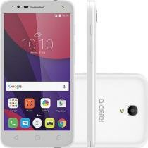 "Smartphone Alcatel Pop 4 Android Tela 5"" Quad Core 1.1 Ghz 8GB 4G Câmera de 13MP + 3 capas -"