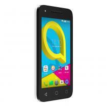 Smartphone Alcatel U3 Branco - Dual chip, 8GB, 4G, Camera 8MP e frontal 5MP, Android 6.0 -