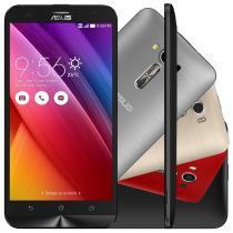 "Smartphone ASUS ZenFone 2 Laser Desbloqueado 5,5"" 16GB 4G Câmera Frontal Dual Chip Android 5.0 - Preto - Asus"