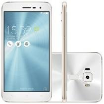 "Smartphone Asus ZenFone 3 32GB Branco Dual Chip - 4G Câm. 16MP + Selfie 8MP Tela 5,2"" Proc. Qualcomm"