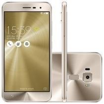 "Smartphone Asus ZenFone 3 32GB Gold Dual Chip - 4G Câm. 16MP + Selfie 8MP Tela 5,2"" Proc. Qualcomm"
