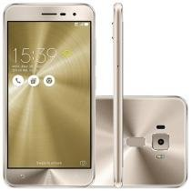 "Smartphone Asus ZenFone 3 32GB Gold Dual Chip - 4G Câm. 16MP + Selfie 8MP Tela 5.2"" Proc. Qualcomm"