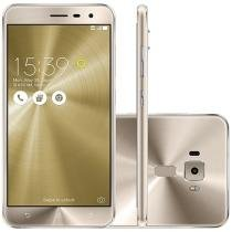 "Smartphone Asus ZenFone 3 64GB Gold Dual Chip - 4G Câm. 16MP + Selfie 8MP Tela 5.5"" Proc. Qualcomm"