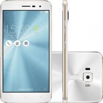 Smartphone Asus Zenfone 3, Branco, ZE520KL, Tela de 5.2, 16GB, 16MP -