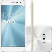 Smartphone Asus Zenfone 3 Dual Chip Android 6 Tela 5.5 64GB 4G Câmera 16MP - Branco -