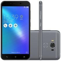 "Smartphone Asus ZenFone 3 Max 32GB Cinza Dual Chip - 4G Câm. 16MP + Selfie 8MP Tela 5.5"" Proc Qualcomm"
