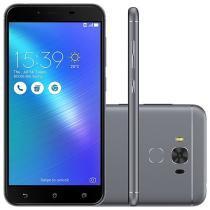 """Smartphone Asus ZenFone 3 Max 32GB Cinza - Dual Chip 4G Câm. 16MP + Selfie 8MP Tela 5.5"""""""